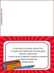Biglietto da stampare sulla scuola