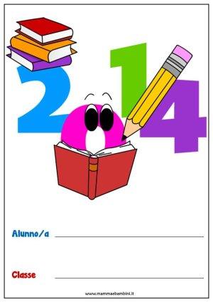 Copertine per quaderni da stampare in scuola