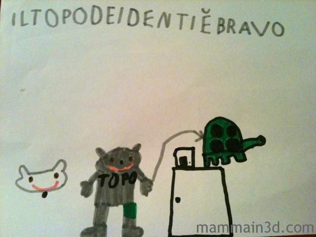 Disegno: il Topo dei denti