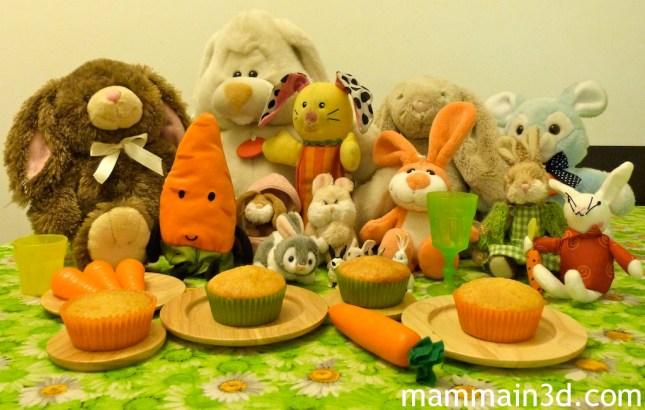 Camille: una festa per i coniglietti