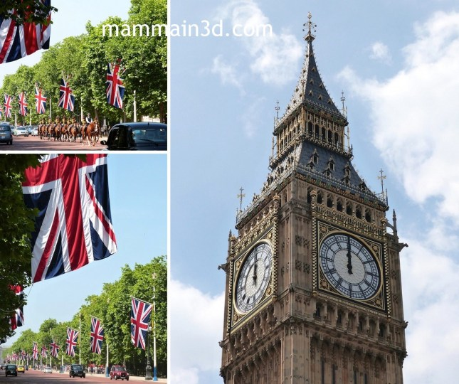 Londra: The Mall – Big Ben