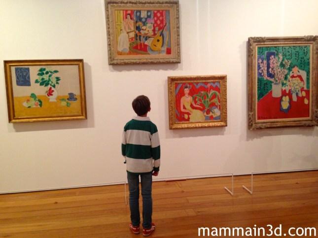 Pietro, 11 anni, incontra le opere di Matisse alla Pinacoteca Agnelli