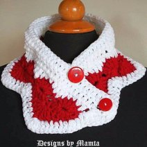 Wear My Valentine Crochet Neckwarmer Pattern