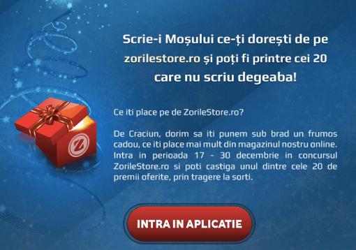 Aplicatie ZorileStore.ro
