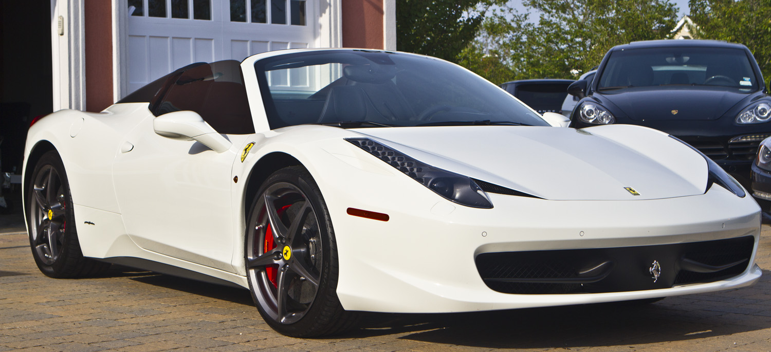Ferrari 458 Italia White By MG-2