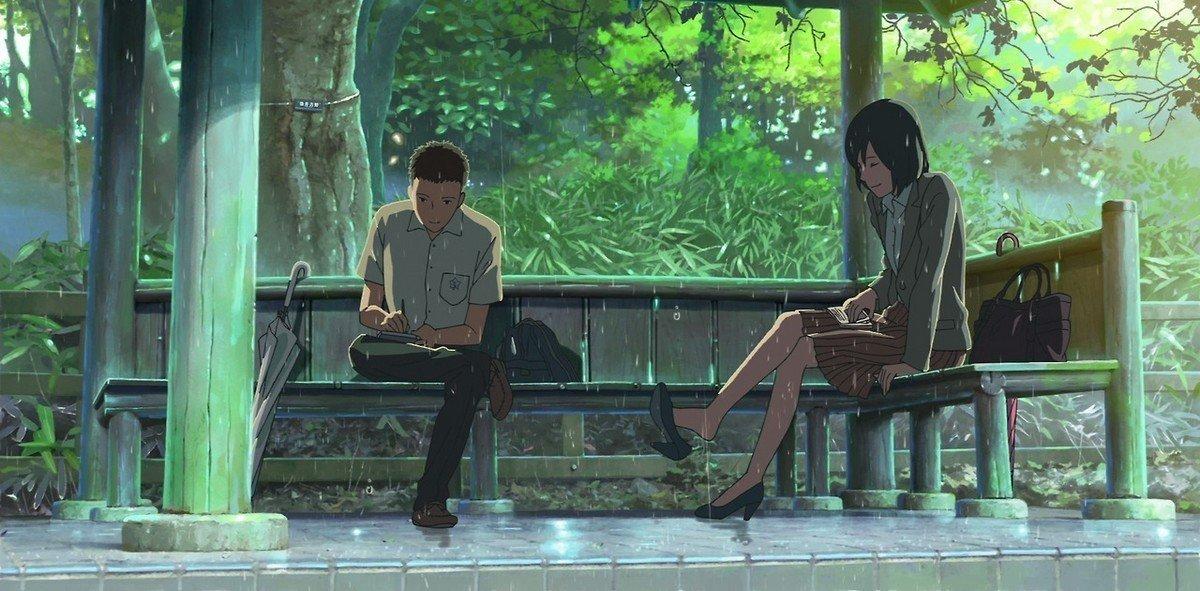 Il giardino delle parole recensione manga star comics for Soluzioni il giardino delle parole