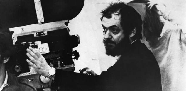 American film director Stanley Kubrick looking through a movie camera.  Original Publication: People Disc - HG0039   (Photo by Evening Standard/Getty Images)