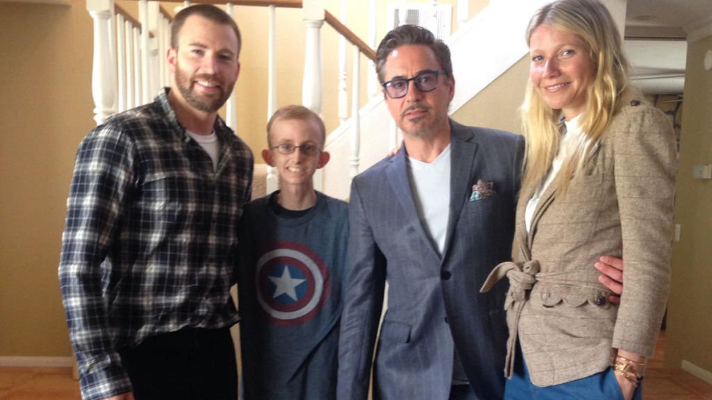 Chris Evans e Robert Downey Jr: eroi del quotidiano