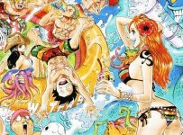 one piece summer color 802