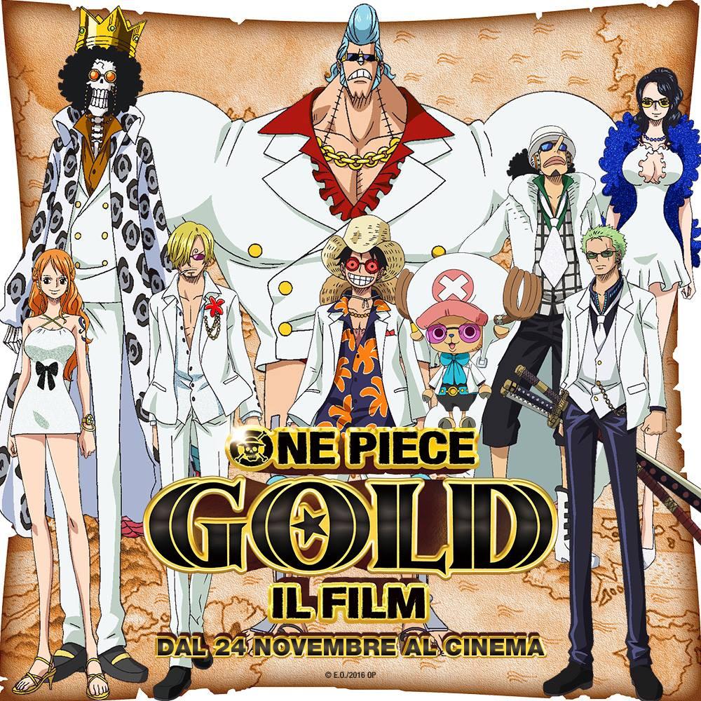 One piece gold il film ecco l 39 elenco delle sale dove for 3 stelle arreda beinasco