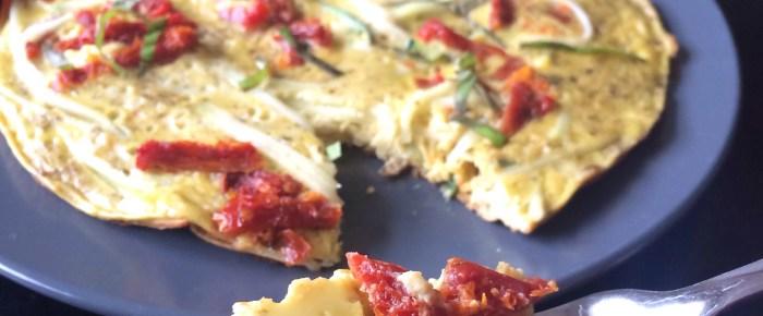 Italian Breakfast: Zoodle Pizza Frittata