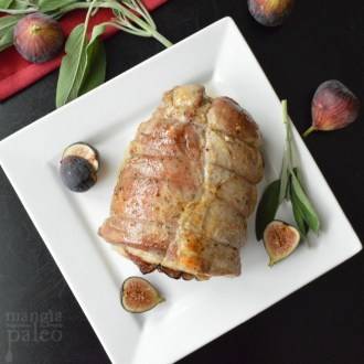Fig and Prosciutto Pork Roast