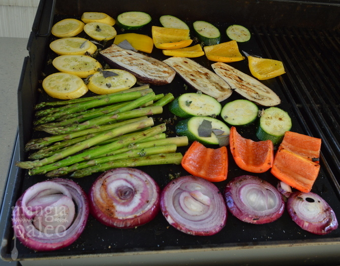 grilling vegetables mangia paleo italian