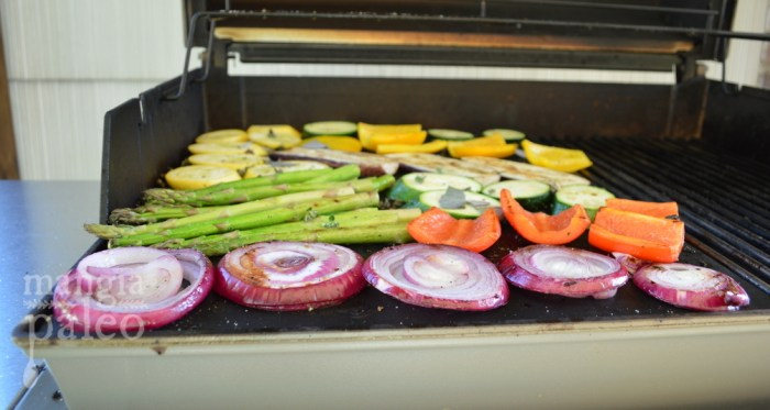 paleo grilled italian vegetables grilling