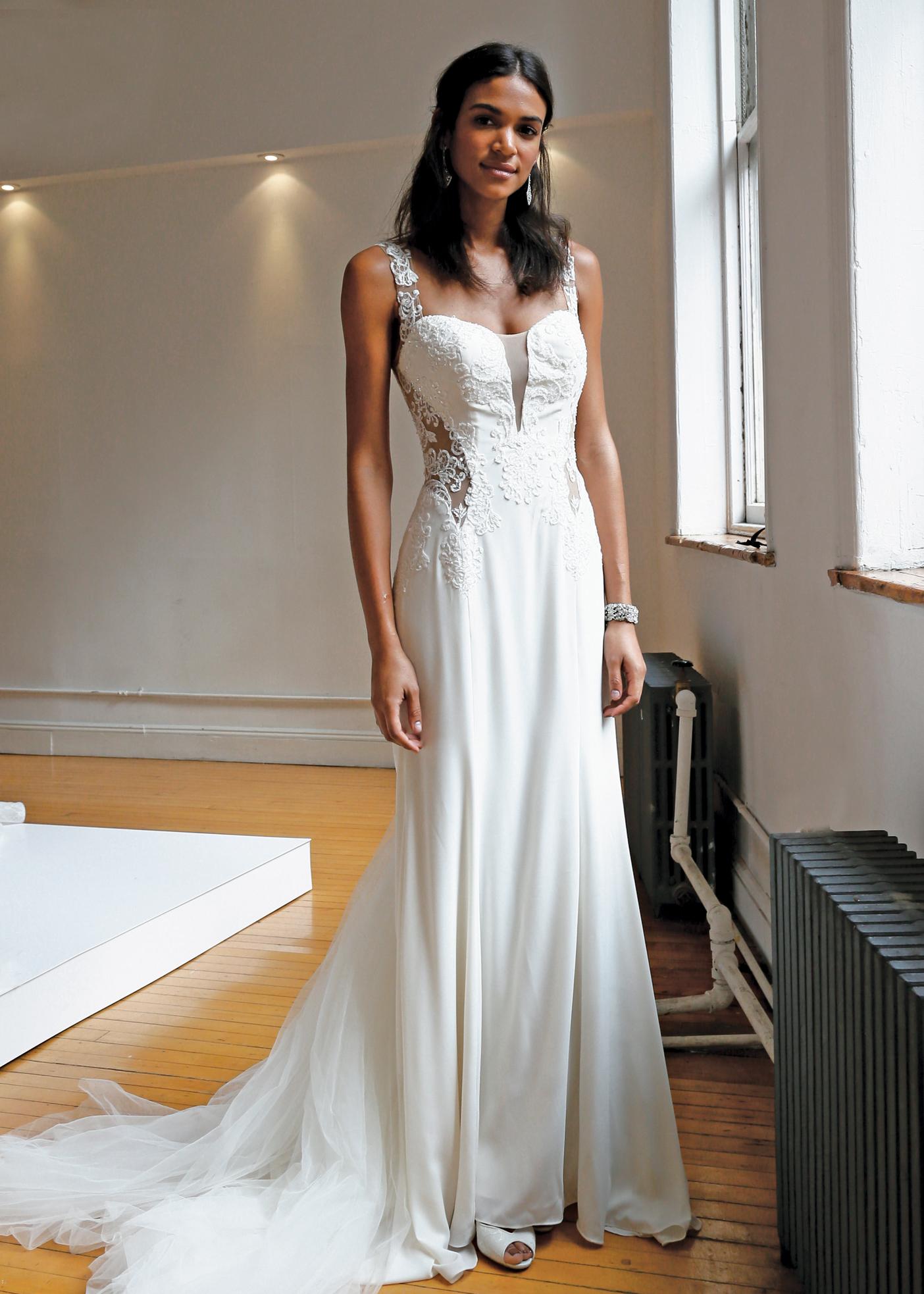 galina signature wedding dress uk galina wedding dresses Ideas About Galina Signature Wedding Gowns On Long Sleeve Sheath With Illusion V Neckline Gown
