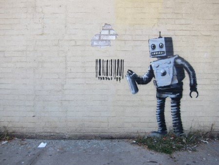 Banksy, NYC. Foto: Scott Lynch