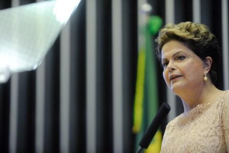 Brasils suspenderte president Dilma Rousseff. Foto: Senado Federal