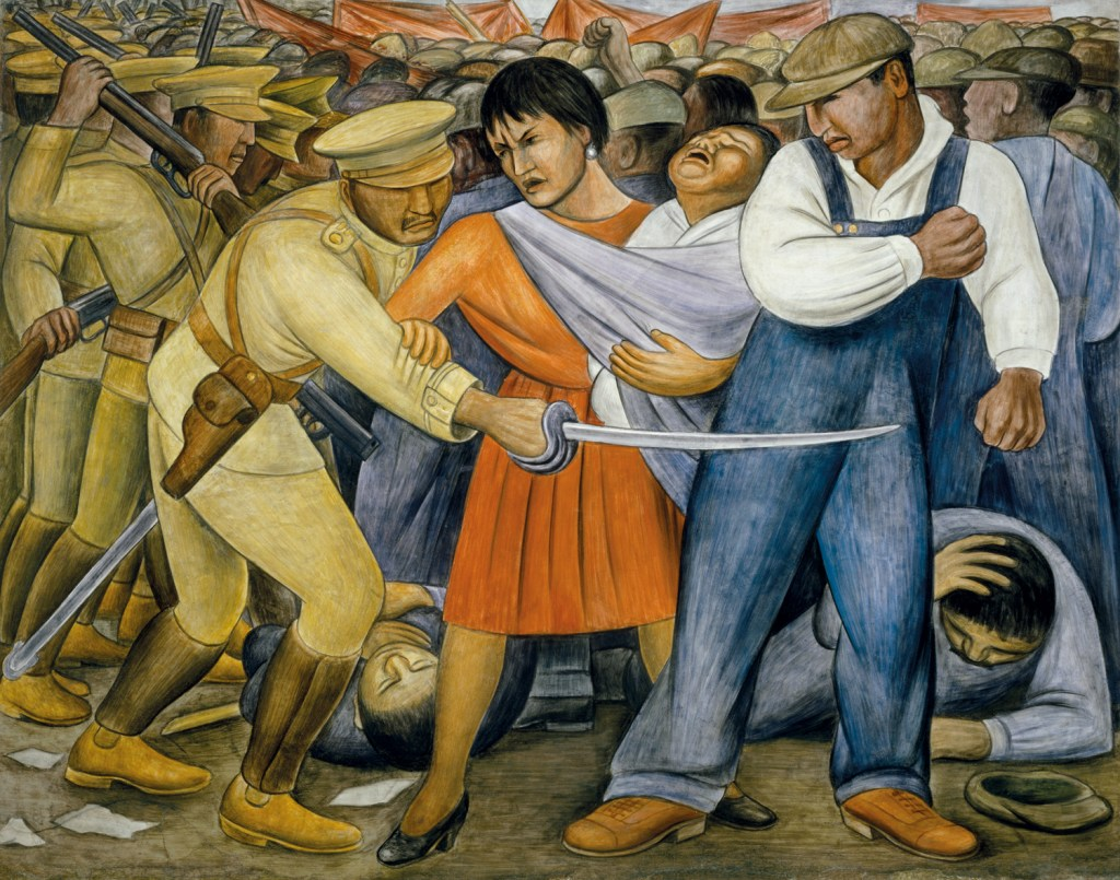 Diego Rivera - «The Uprising» (1931). Foto: MoMA