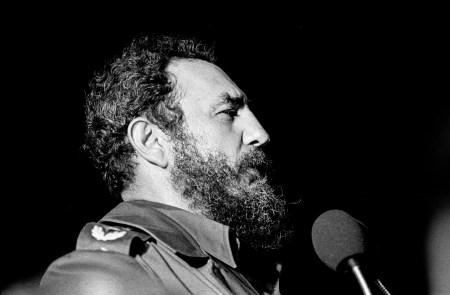 Fidel Castro i Havanna 1978. Foto: Marcelo Montecino
