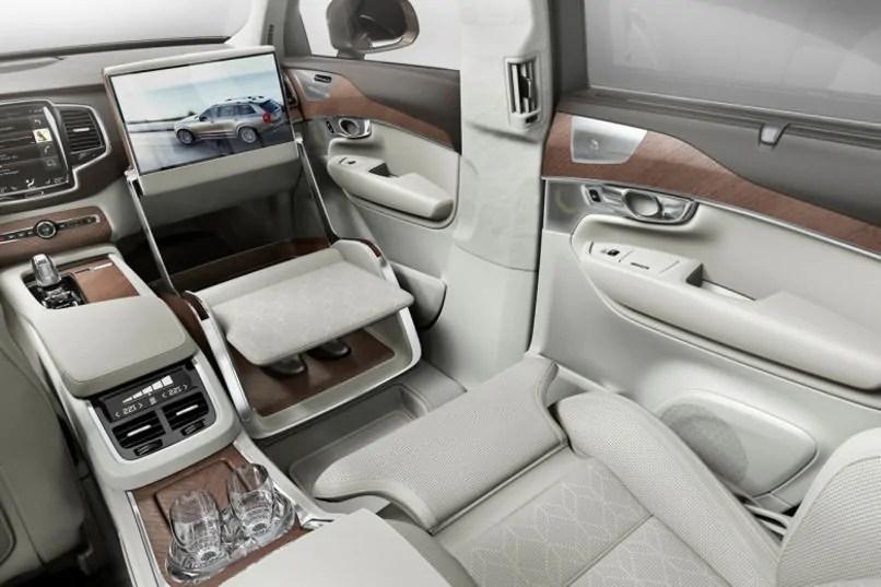 Volvo komt met interieur voor de xc90 excellence manify for Interieur xc90