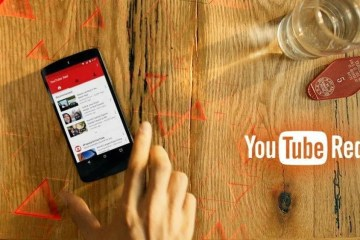 YouTube Red header