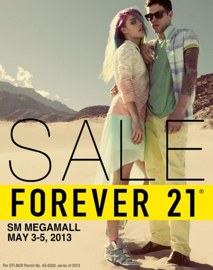 Forever 21 Sale @ SM Megamall May 2013