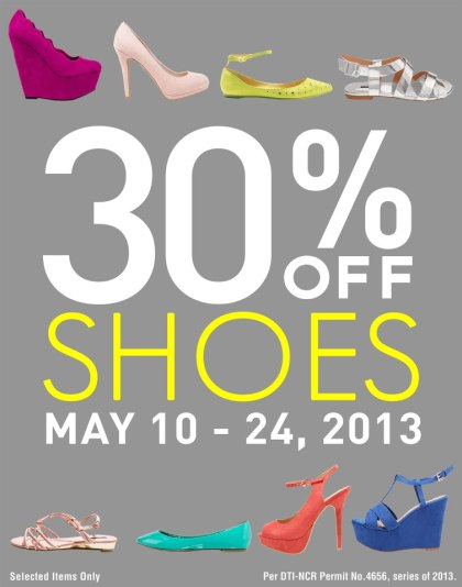 Forever 21 Shoes Sale May 2013