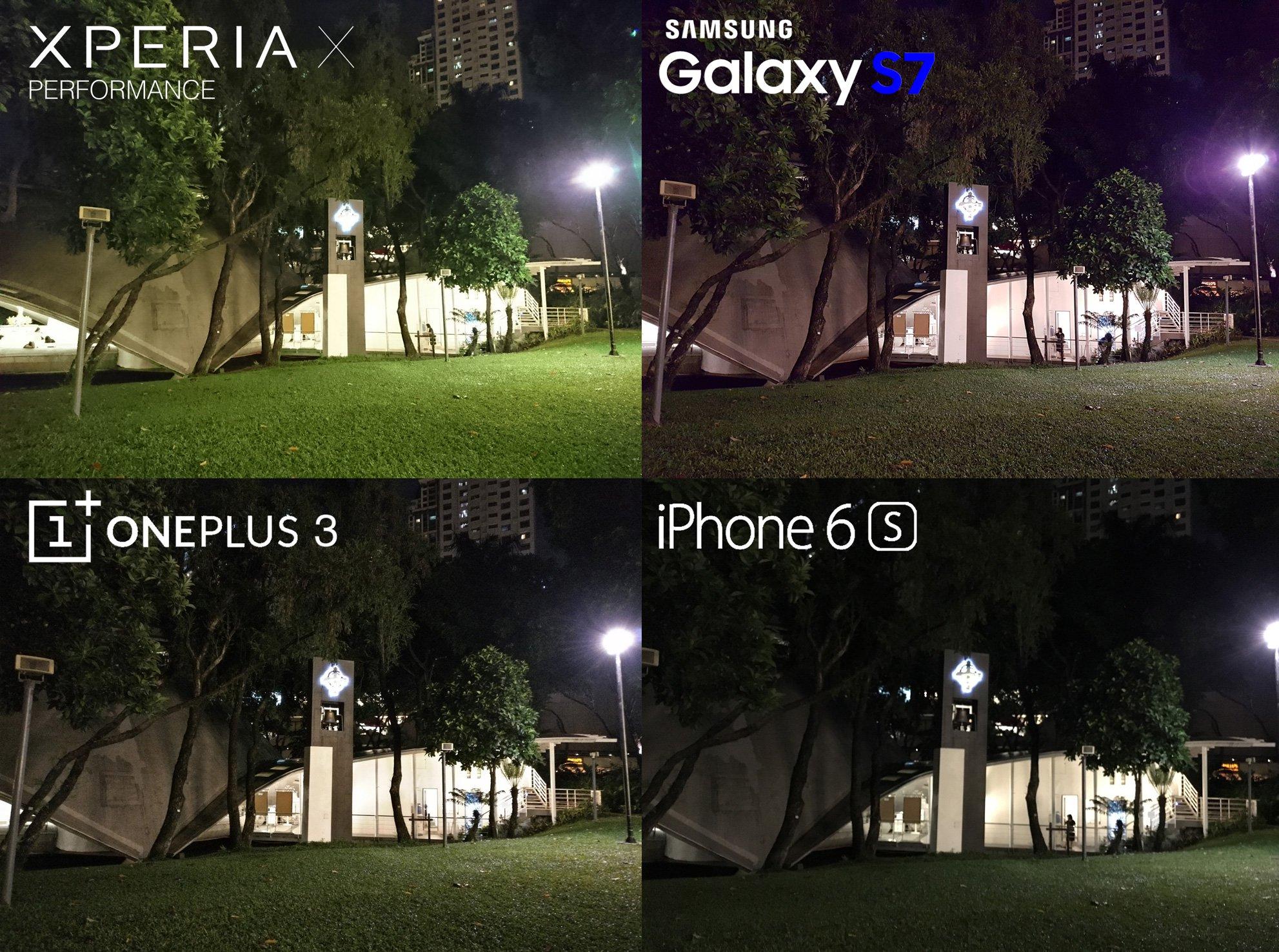 Sony Xperia X Performance VS iPhone 6s, Galaxy S7, OnePlus ...