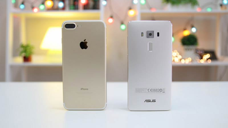 IPhone 7 Plus Vs Asus Zenfone 3 Deluxe Comparison Camera