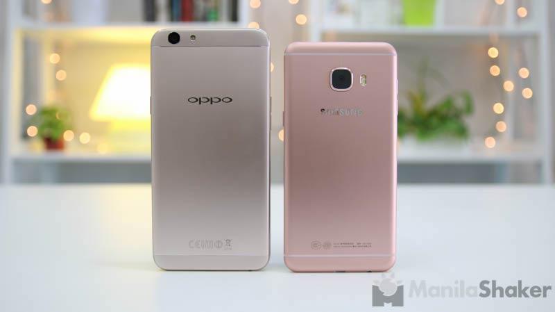 Oppo F1s vs Samsung Galaxy C5 Review + Camera Comparison
