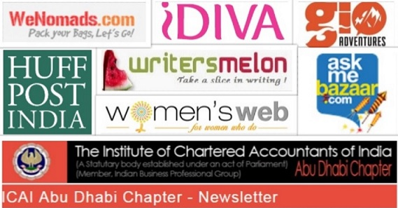 Blogger who travels, Wenomads, HuffPost, How to write for Idiva?