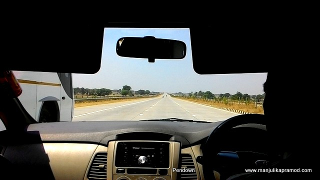 So here when we hit the Expressway to AGRA