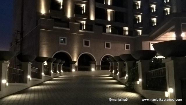 Novotel Imagica in the Night