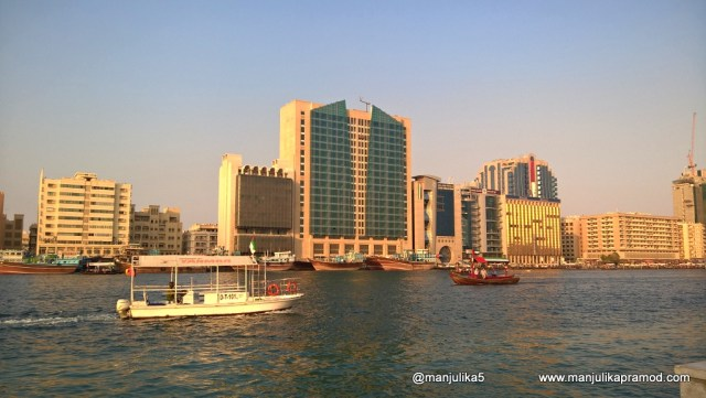 Dubai Creek is a saltwater creek located in Dubai, Bur Dubai, Deira, financial center