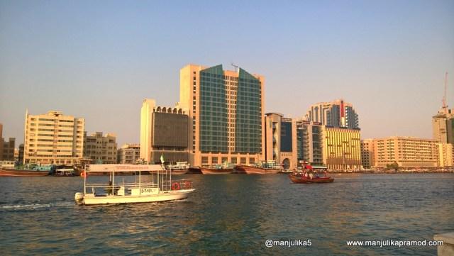 Dubai Creek is a saltwater creek located in Dubai, Bur Dubai, Deira, financial center