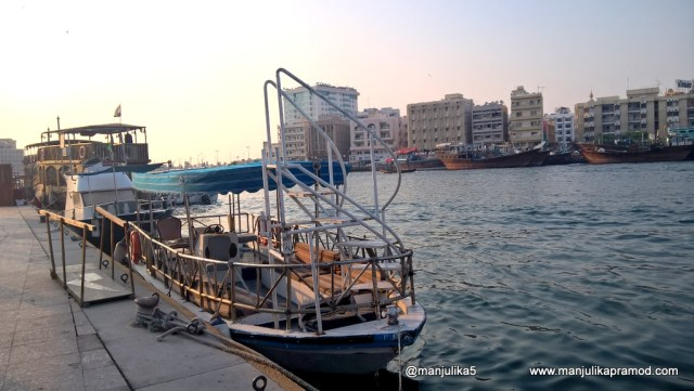 Dubai Creek, Water Taxi, Abra, Dubai, Travel