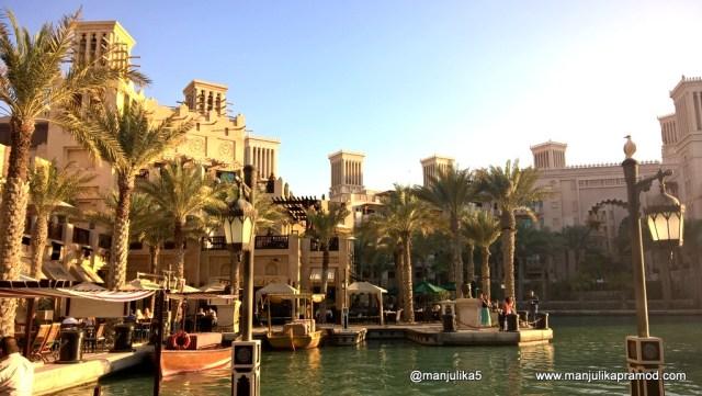Madinat Jumeirah is beautiful