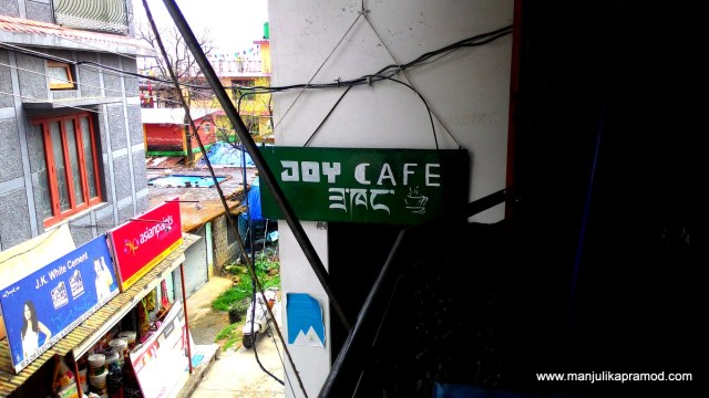 Joy Cafe, Chowgan Village, India