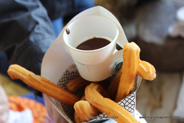 Churros, Fourways Farmers Market, Johannesburg