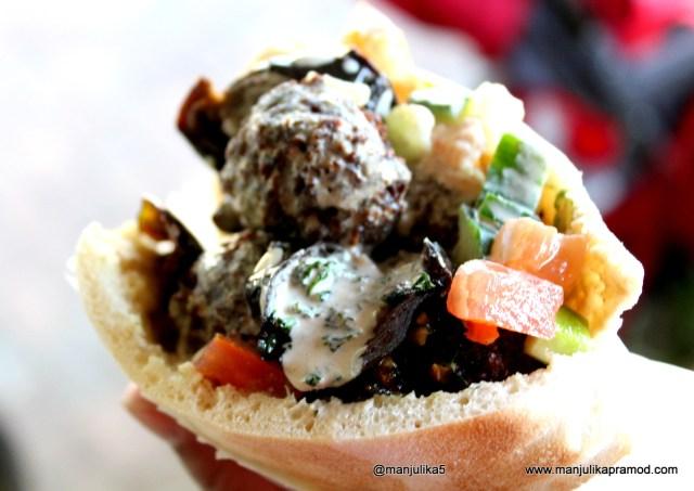 Falafel, Joburg, Sunday market