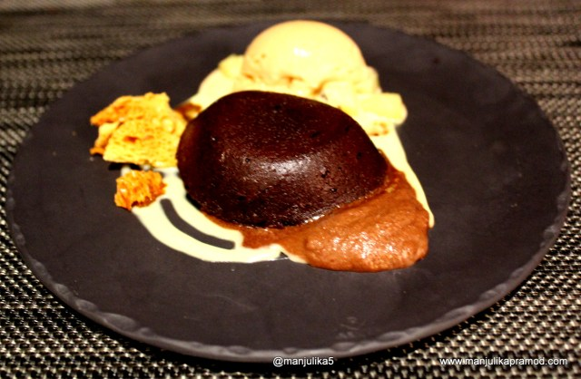Chocolate pudding, Dessert, ON19, Cape Town