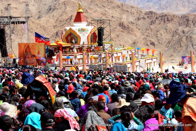 Naropa celebrations in Ladakh