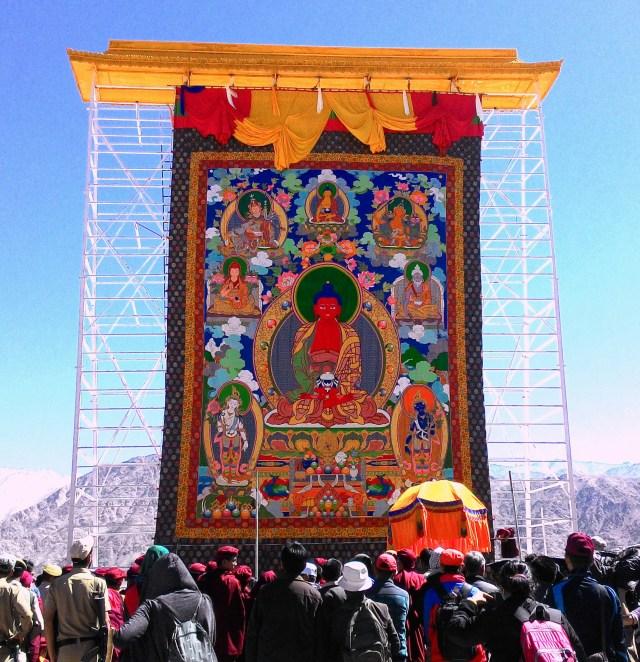 Buddha Amitabha, Thanka