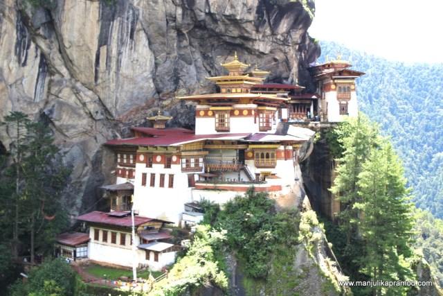 Taktshang Goemba or Tiger's Nest Monastery