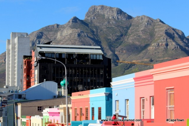 Bo Kaap - The colorful city.