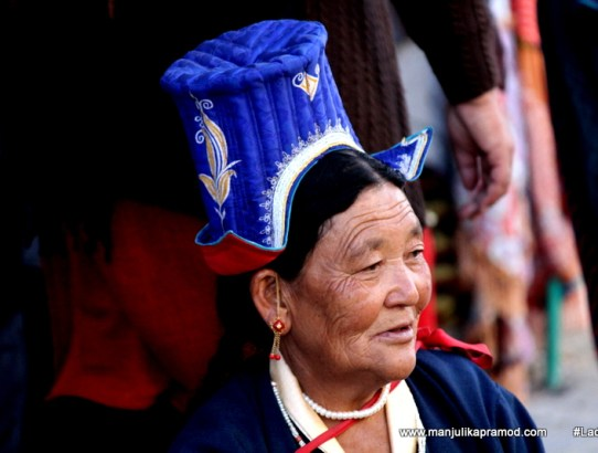 Ladakhi Men & Women Have Unique Fashion Sense