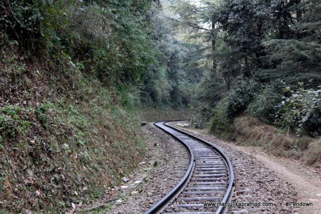 The Railway track of Shoghi