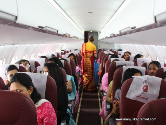 50 WOMEN FLEW FOR THE FIRST TIME IN THIS SPECIAL FLIGHT