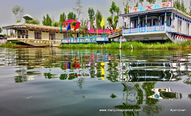 Dal means lake in Kashmiri