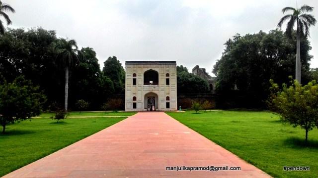 Heritage, Humayun's tomb